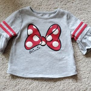 Minnie Mouse toddler girl shirt